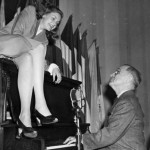 Lauren Bacall with Vice President Harry Truman.