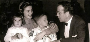 Leslie, Stephen, Bacall and Bogie.