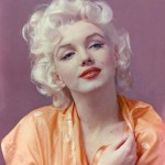 Marilyn Monroe in a photo taken by Hal Berg who was a co-worker of the author's father.
