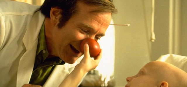 "Robin Williams was endearing in ""Patch Adams."""