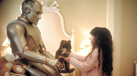 "Time with ""Little Miss"" in ""Bicentennial Man."""