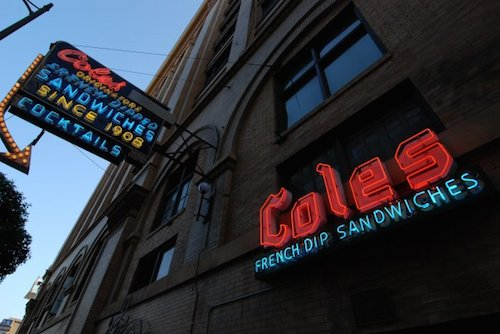 A view of Cole's from the street. Image courtesy of Facebook.