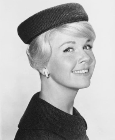 "A class act. Doris Day in a still for the film, ""Midnight Lace,"" from 1960. Public domain image."