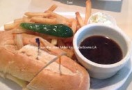 A delectable French Dip Sandwich from the Hampton Diner in New Jersey. Photo by Jennifer Jean Miller.