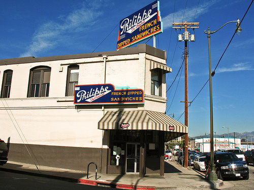 The exterior of Philippe's. Image courtesy of Facebook.