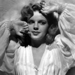 "Judy Garland, looking glamorous in ""Presenting Lily Mars."" Public domain image courtesy of MGM."